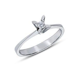 Solitaire Diamond Ring 0,08 Carat - SPR35256