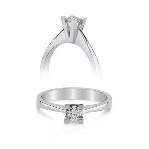 Solitaire Diamond Ring 0,09 Carat - SPR35588