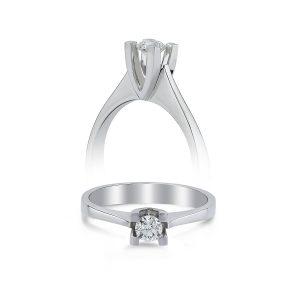 Solitaire Diamond Ring 0,19 Carat - SPR36352