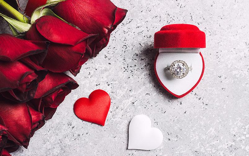 sevgililer gününe özel pırlanta mücevher modelleri