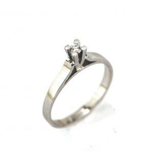 Vintage Solitaire Diamond Ring 0.07 Carat - APR22757