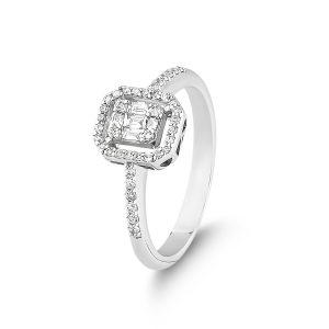 Baguette Diamond Ring 0,32 Carat - BGT5142