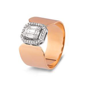 Baguette Diamond Ring 0,26 Carat - BGT3257